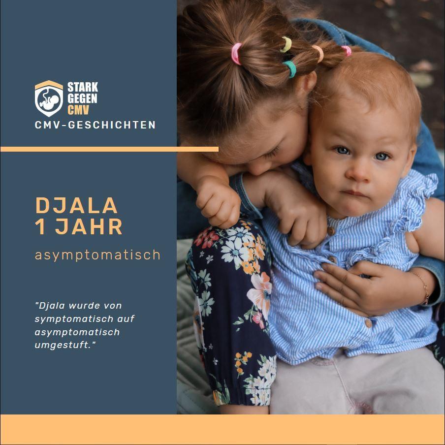 Djala, 1 Jahr, asymptomatisch