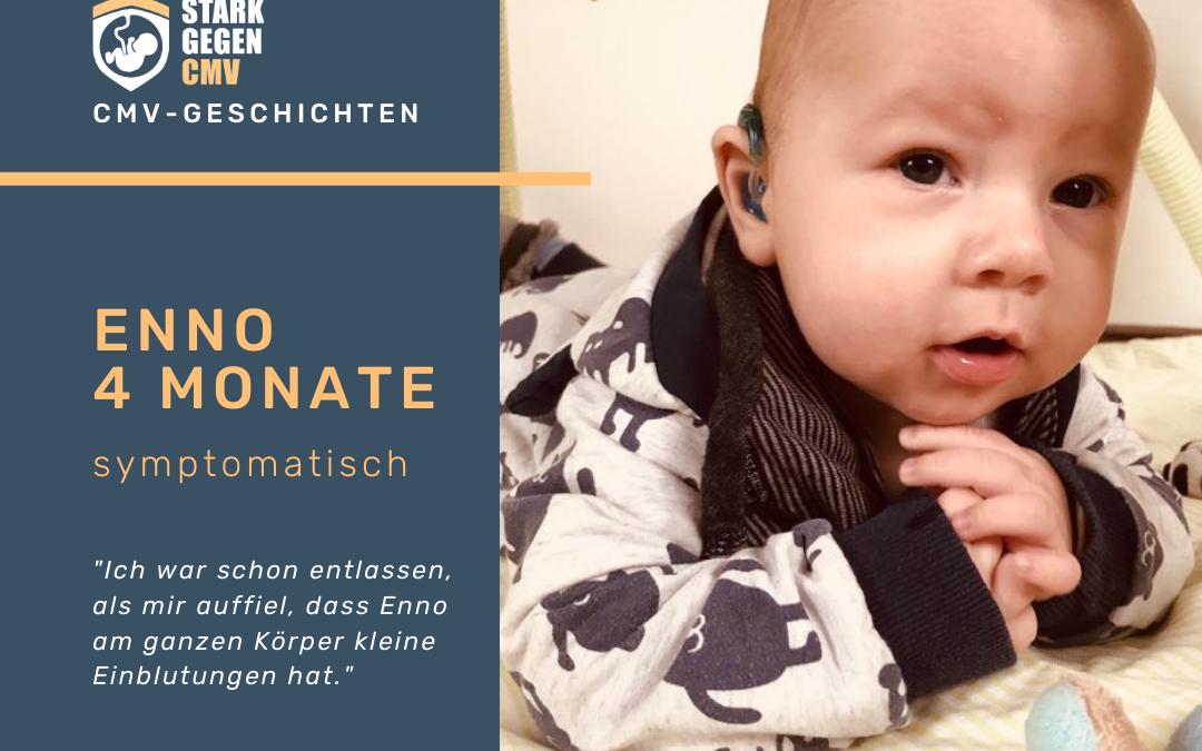 Enno, 4 Monate, symptomatisch